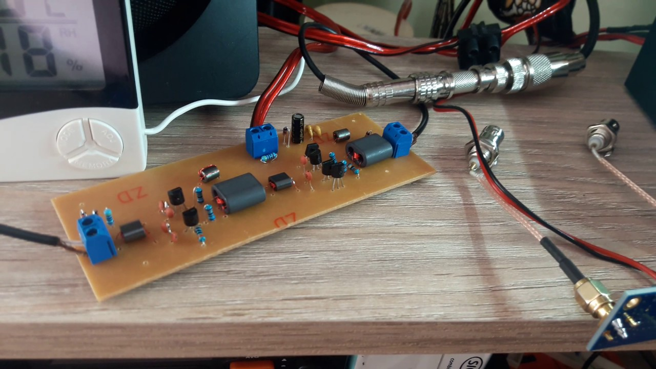 Preamp SV1AFN x Homemade preamp