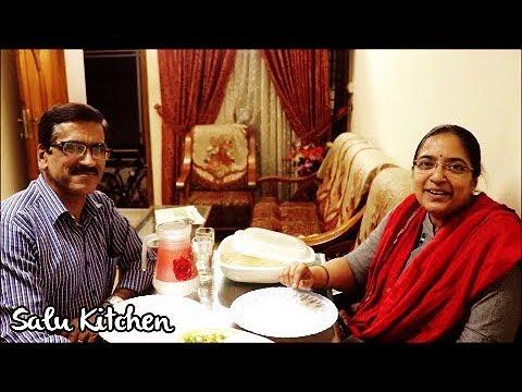 Quick & Easy Vegetarian Recipe    Surprise Visit from a Dear Friend    Ep#596    Salu Kitchen