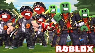 CLONES ARMY BATTLE in ROBLOX😱