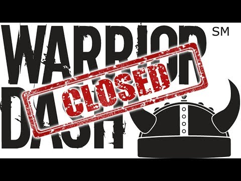 WARRIOR DASH OUT OF BUSINESS!