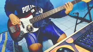 Gambar cover Sky and Blue - Girlfriend (ost Black Clover Op) Bass cover