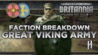 The Great Viking Army Faction Breakdown | Total War Saga: Thrones of Britannia