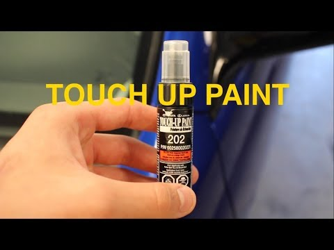 How To Apply Touch Up Paint To Your Car