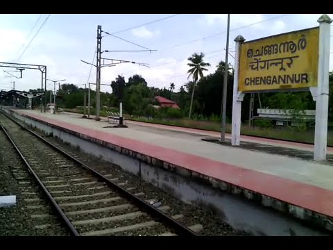 Tiruvalla to Chengannur full journey by Vanchinad Express