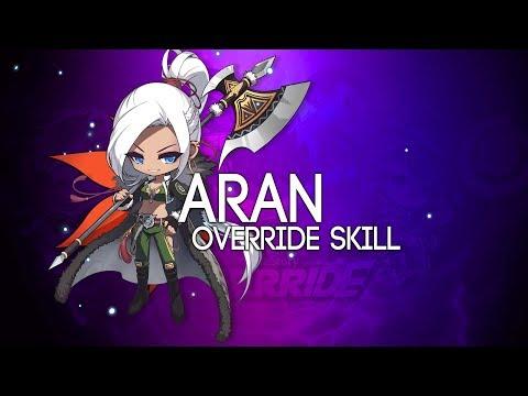 [Reboot] Aran OVERRIDE 5th Job Skill Showcase