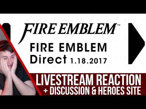 Fire Emblem Direct Reaction + Discussion & Fire Emblem Heroes Site!