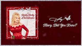 Dolly Parton Mary, Did You Know?