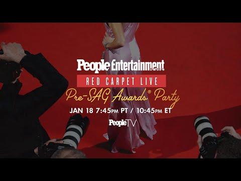 Red Carpet Live: EW Pre-SAG Awards Party | PeopleTV