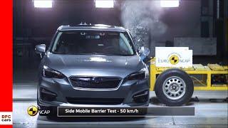 2018 Subaru Impreza & XV Crash Test & Rating