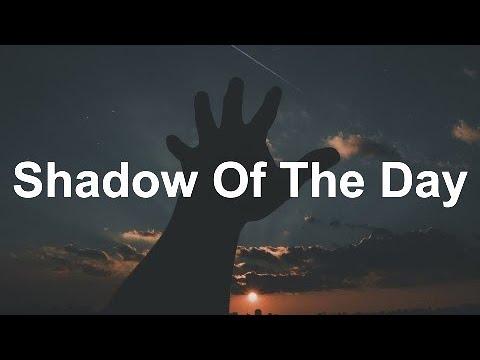 shadow of the day lyrics - 480×360