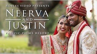 Neerva Rana & Justin Mathews - Cinematic Wedding Day Highlight (Hindu & Catholic)