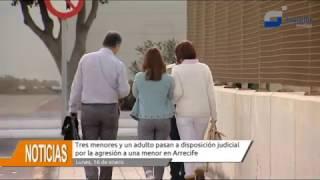 Tres menores y una adulta pasan a disposición judicial por la agresión a una adolescente en Arrecife
