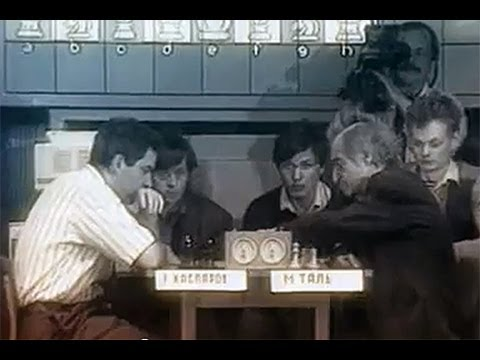 Mikhail Tal's last Chess game - against Garry Kasparov - Moscow Blitz 1992