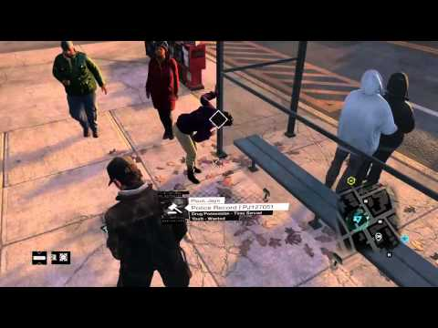 Allergic to shellfish (WATCH_DOGS)
