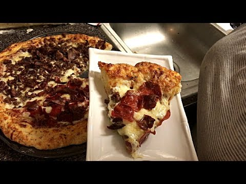 How To Make Homemade Large Pizza