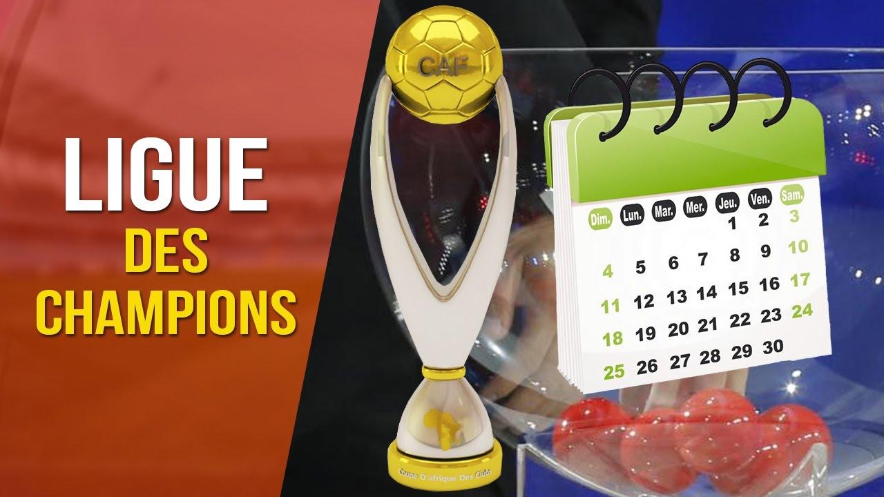 Calendrier Ligue De Champion.Ligue Des Champions Caf Les 4 Groupes Et Calendrier Des Matches