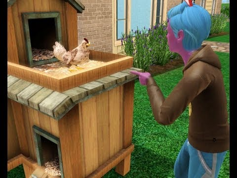 The Sims 3 Store | Fighting With Charles the Evil Chicken