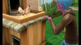 Sims 3: Fighting With Charles The Evil Chicken
