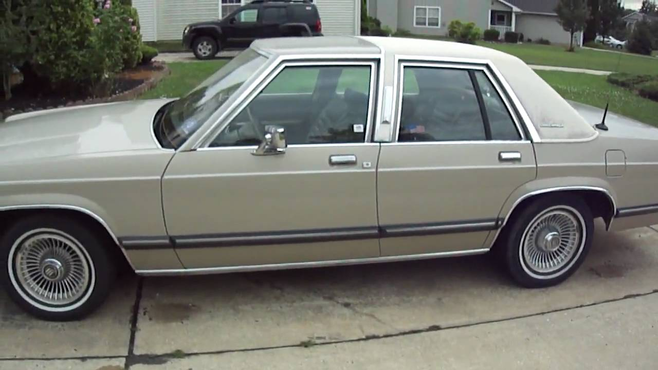 1991 Mercury Grand Marquis LS Minor Rust Problems  YouTube