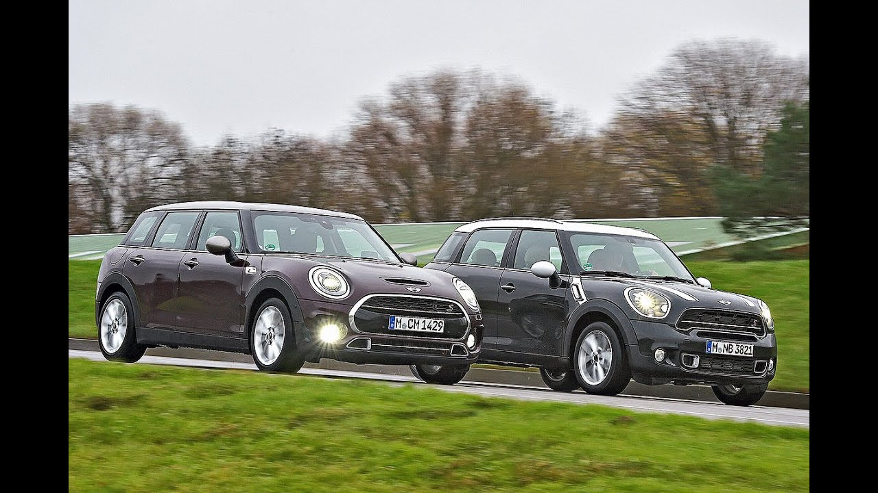 Mini Cooper Countryman Vs Mini Cooper Clubman Youtube