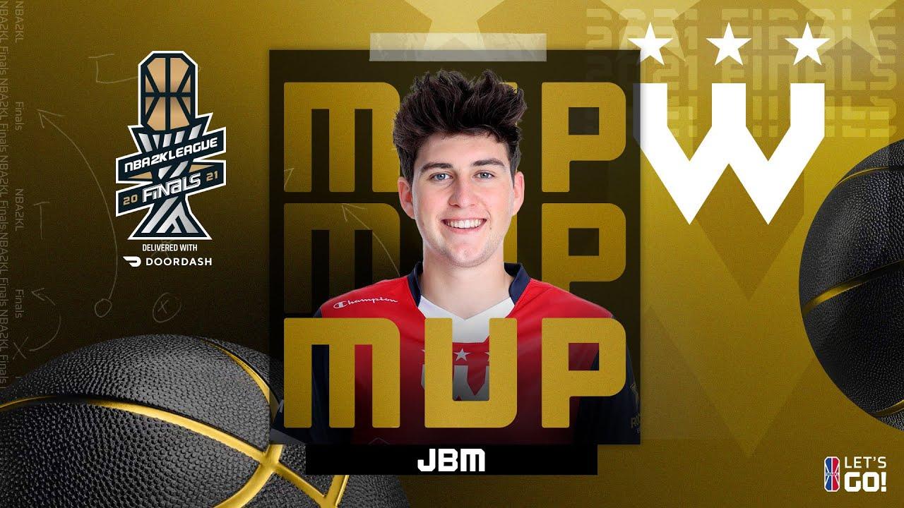 JBM Wins 2021 NBA 2K League Finals MVP | Season 4