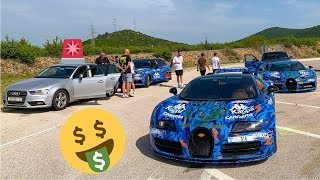Mijn Hoogste Boete Ooit! - Gumball 3000 met een Bugatti #1