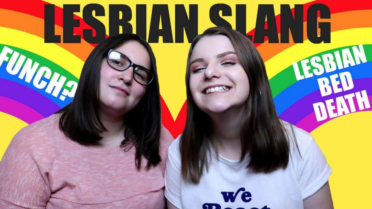 Lesbian slang
