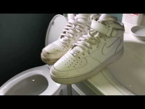 How to clean and restore your Air Force 1's