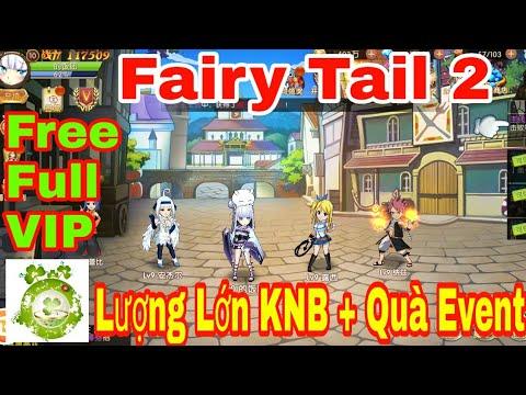 Game Private Hội Pháp Sư Fairy Tail 2 | Free Full VIP27 – 48.888KNB + KNB Event + Quà INGAME Giá Trị