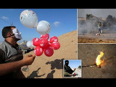 Palestinians torch I sraeli farms using kites with flammable material