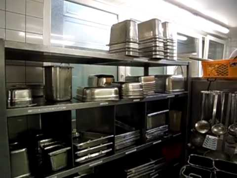 Restaurant Kitchen Organization Ideas hatem burhan restaurant kitchen in germany - youtube