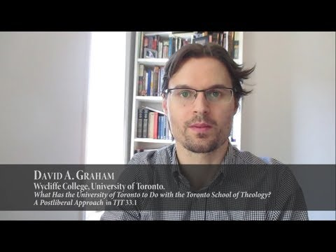 What Has the University of Toronto to Do with the Toronto School of Theology?