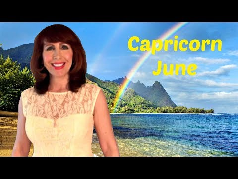 Capricorn June Astrology The Universe Has Your Back, New Solutions & Helpful Discoveries