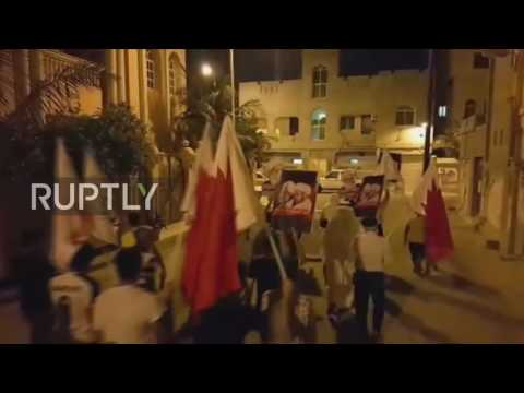 Bahrain: Police and protesters clash after court postpones verdict of human rights activist