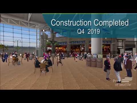 Central Terminal Upgrade project animation