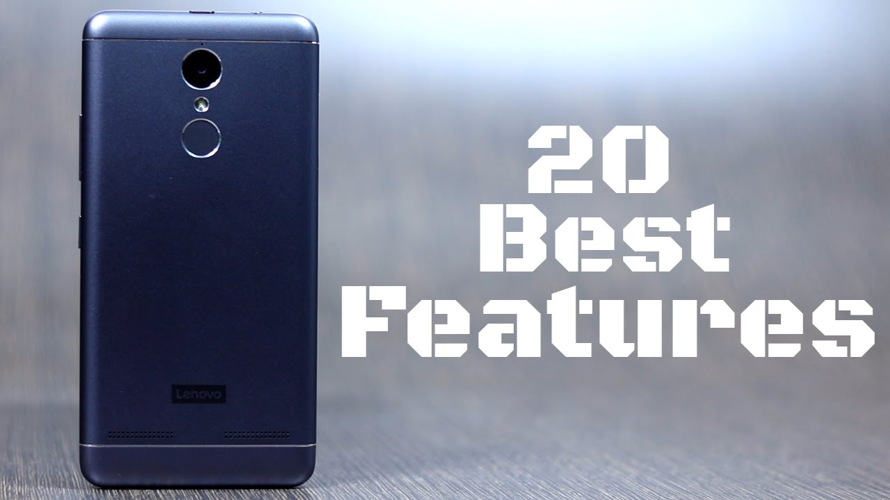 20 Best features of Lenovo K6 Power and some tips and tricks