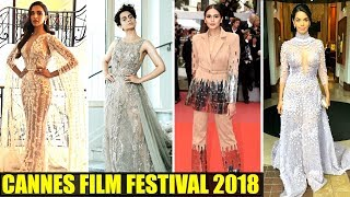 Deepika Padukone, Kangana Ranaut, Huma Qureshi & Mallika Make Stylish Appearance   Cannes 2018