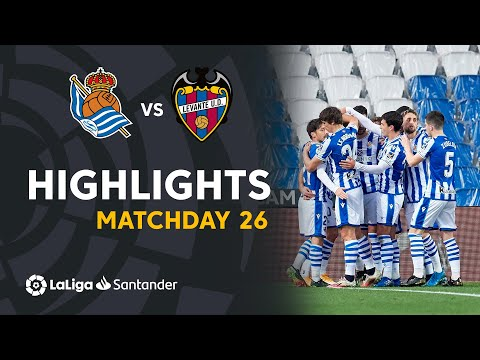 Real Sociedad Levante Goals And Highlights