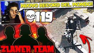 REAGISCO al NUOVO RECORD del MONDO! 119KILL in TRIO vs SQUAD!? ZLANER TEAM ASSURDI !!