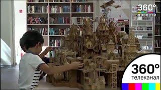 Житель Химок построил бамбуковый город
