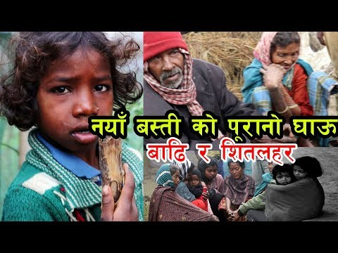 People Effected  by COLD WAVE in nepal   (तरईमा सितलहरले जन्जीवन प्रभाबित)