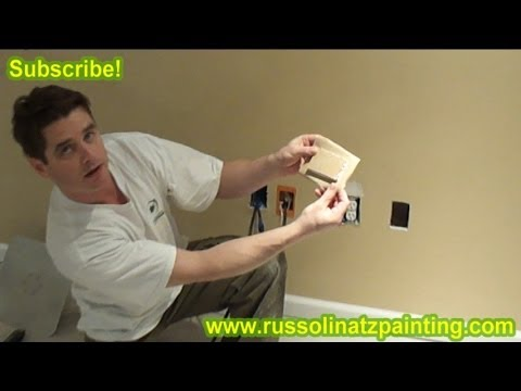 Drywall Repair - How to Fix a Small Hole in the Wall using California Patch (Part 1)