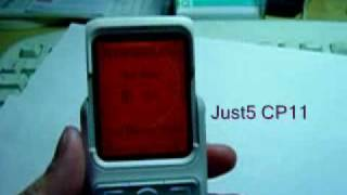Видео Just5 CP11 third anti-iPhone with big buttons. (автор: Michael Fadeev)