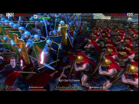 Ultimate Epic Battle - #01 - 300 Spartan vs 500 Roman and 500 Persian