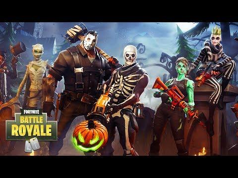 Fortnite Battle Royale - NEW HALLOWEEN DLC UPDATE!! (Fortnite Battle Royale Multiplayer Gameplay)