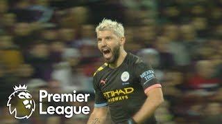 Sergio Aguero continues Man City39s goal barrage against Aston Villa  Premier League  NBC Sports