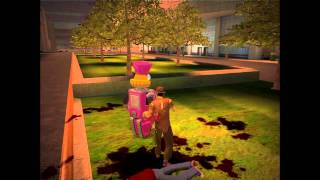Stubbs the Zombie Rebel Without A Pulse Gameplay Played on XBox 360 (Xbox 1) [60 FPS]
