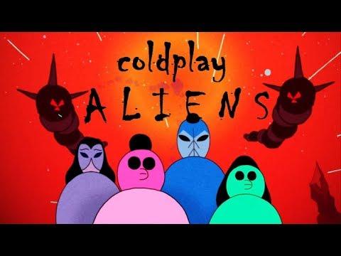 Coldplay - A L I E N S (Letra y Subtitulos en Español)