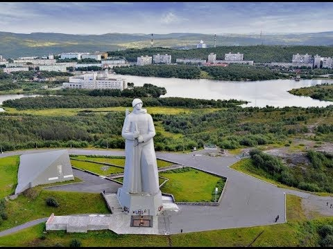 Murmansk - the largest city beyond the Polar Circle./ г. Мур