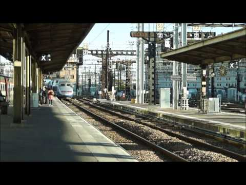 3 TGV Duplex in/à Paris Gare de Lyon